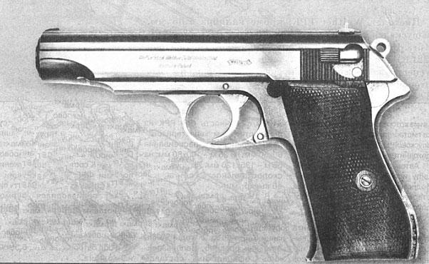 9-мм пистолет Walther Р.38